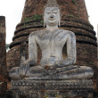 Buddha and stupa — Foto de Stock