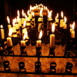 Candles in church — Stock Photo #3619957