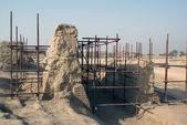 Gran palacio ruinas en gaochanmg, china — Foto de Stock
