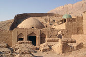 モスクおよび墓地 — ストック写真