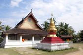 Buddhist wat — Foto Stock