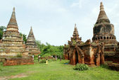 Old stupas — Stock Photo