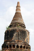 Top of stupa — Stock Photo
