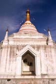 White stupa — Stock Photo