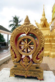 Golden stupa, Ko Samui — Stock Photo