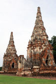 WAt and pagodas — Stock Photo