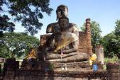 Two Buddhas — Stock Photo