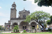 Cathedral in Manila — Stock Photo