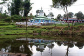 Mosque and pond — Stock Photo