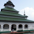 Stock Photo: Mosque on the lake