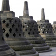 Stock Photo: Stone stupas