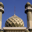 Stock Photo: Green mosque