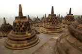 Stone stupas — Stock Photo