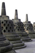 Stone stupas — Stock Photo
