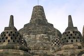Big and small stupas — Stock Photo