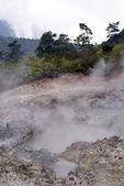 Bubbling mud pool — Stock Photo