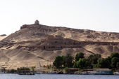 Fortress and Nile — Stock Photo