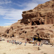 Stock Photo: Mountain in Petra