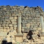 muur en kolommen — Stockfoto