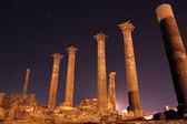 Columns at night — Stock Photo
