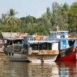 Boats and houses — Stock Photo #3666549