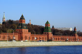 Red Kremlin — Stock Photo
