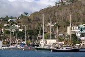 Marina in Saint George — Stock Photo
