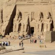 Stock Photo: Temple in Abu Simbel