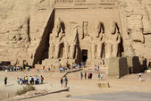 Temple in Abu Simbel — Foto Stock