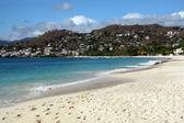 White sand and beach — Stock Photo