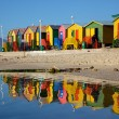 Bathing Boxes - Stock Photo