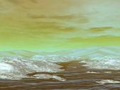 Eislandschaft — Stockfoto