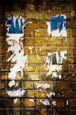 Art gammal vägg — Stockfoto