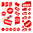 Stock Vector: Tags