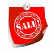 Stock Vector: Tags sale