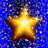 Christmas star — Vetorial Stock