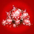 Christmas balls - Stock Vector