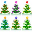 Christmas set — Vector de stock  #3591095