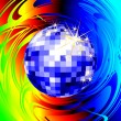 Royalty-Free Stock Imagem Vetorial: Disco ball