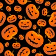 Royalty-Free Stock Vector Image: Seamless halloween