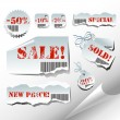 Tags sale — Stock Vector #3591435