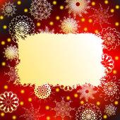Christmas frame — 图库矢量图片