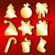 Christmas set — Stockvektor #3615313