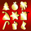 Christmas set — Vector de stock #3615313