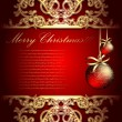 Christmas background — Vector de stock #3624254