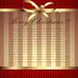 Christmas background — Vector de stock #3624291