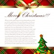 Christmas background — Stock vektor #3624296