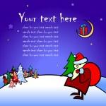 Christmas card — Stock Vector #3624371