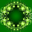 Abstract green background — Imagen vectorial