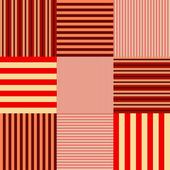 Red striped seamless — Stock Vector